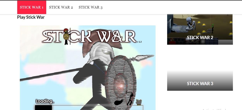 stick war game
