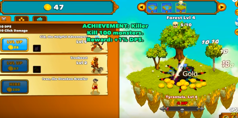 clicker heroes flash game